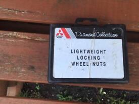 Mitsubishi Lightweight Locking Wheel Nuts