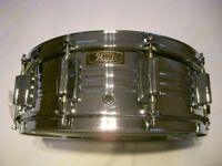 "Pearl 4214 Custom COB snare drum 14 x 5 1/2"" - Japan - '70s - Ludwig 400 -Stewart Copeland drum"