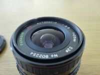 Vintage lenses 200mm and 24mm M42