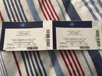 2x John Legend Tickets, 12th September 8pm (Doors open 6:30pm)