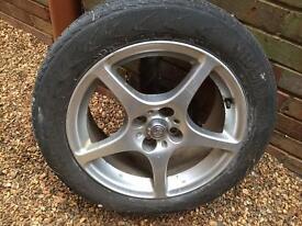Toyota mr2 alloy wheel