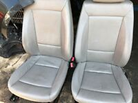06 BMW 1 SERIES LEATHER INTERIOR SEATS FULL SET WITH DOOR CARDS