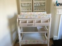 Baby changing unit & bath &toy container