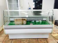 Fridge display cabinet cafe restaurant deli