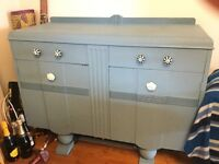 oak sideboard good for shabby chic project