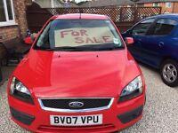 2007 model ford focus zetec for sale excellent condition