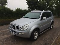 2006 Ssangyong Rexton RX270 SE5 For Sale - 8 Months MOT / Tow Bar / Leather Interior / Manual