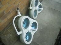 Vintage 1960s/70s operating thearter lights