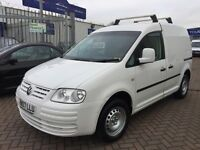 ***REDUCED*** 2007 07 VW CADDY 2.0 DIESEL NICE VAN WITH VW ALLOY WHEELS COLOUR CODED SUPERB DRIVE