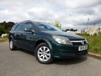 2005 VAUXHALL ASTRA ESTATE AUTOMATIC - NEW MOT - WARRANTY