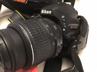 Nikon SRL camera D5100