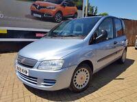 Fiat Multipla 1.9 Multijet Eleganza, REG:2009, MPV 5dr 6 SEATS,Diesel Manual