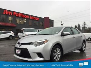 2014 Toyota Corolla LE w/rear cam, heat seats, bluetooth