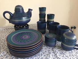 KMK Manuell German quality tea service pottery set