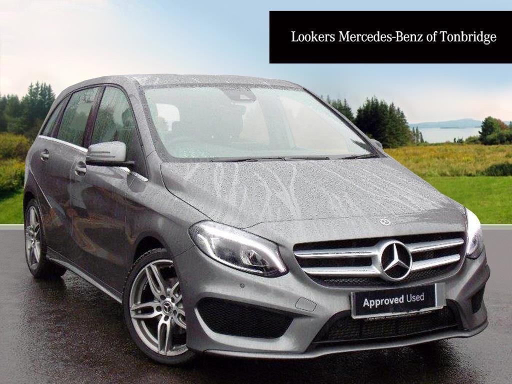 Mercedes benz b class b 200 d amg line premium grey 2017 for 2017 b class mercedes benz mpge