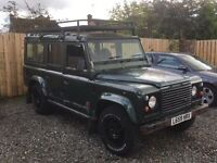 *** Land Rover defender 110 county swap px ***