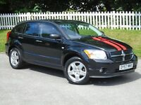 2007 (57) Dodge Caliber 2.0 SXT CVT | V. LOW MILAGE | AUTO | LONG MOT | BLACK LEATHER | IMMACULATE