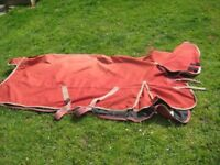 Horse Riding Equipment - Shires Rain Sheet with Neck