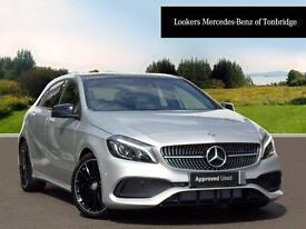 Mercedes-Benz A Class A 200 D AMG LINE PREMIUM PLUS (silver) 2017-06-30