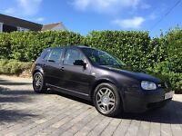 1999 VW Volkswagen Golf MK4 GTI 1.8t 20v Turbo Black 5dr FSH Full Heated Leather
