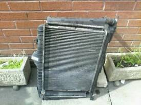 RADIATOR / COOLING FANS / A/C CONDENSER ( VOLVO 2.0 T + SEAT LEON 1.8 t CUPRA )