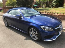 2017 (17) Mercedes-Benz C Class C250d AMG Line Premium Plus 2dr Auto Sports, convertible