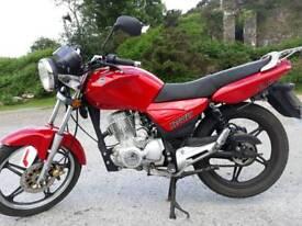 Keeway Speed 125cc EXTREMELY LOW MILAGE + Motorbike Gear (FREE)