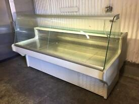Counter service 2m Display Fridge for restaurant takeaway cafe pizza shop