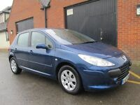 2006 PEUGEOT 307 1.4 FACELIFT 50,000 MILES Part exchange available / Credit & Debit cards accepted
