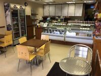 SANDWICH/CAFE BUSINESS FOR SALE - 3 MONTHS RENT FREE PERIOD *GOING CONCERN*