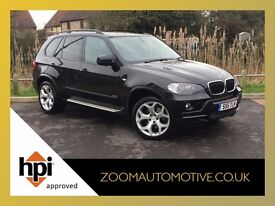 2007 BMW X5 SE 5S 3.0D AUTO BLACK BIG SPEC + BARGAIN
