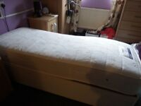 As new adjustable orthopeadic bed excellent condition hardly used