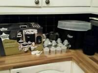 Tommee Tippee steam steriliser set