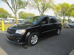 2012 Dodge Grand Caravan Crew PLUS SIEGES EN CUIR PLUS PORTES CO