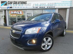 2013 Chevrolet Trax LTZ-AWD-LEATHER-SN ROOF