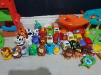 Job lot of toot toot toys
