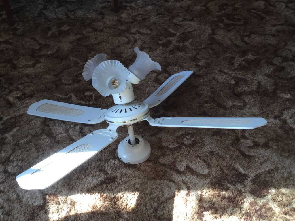 Multi Sd Twin Direction Ceiling Fan With Lights Micromark Mm 30064