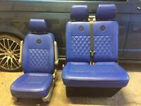 VW Transporter T5 Upholstered Seats