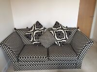 3 and 2 seater sofas with modern design