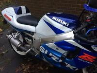 Gsxr 600 gsxr600 1999 blue Gixxer cheap sports bike Px swap