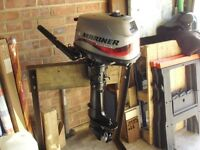 Mariner 4 HP Four Stroke Outboard Engine