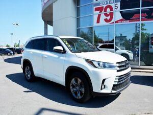2017 Toyota Highlander LIMITED AWD - Cuir - Toit ouvrant- Démarr