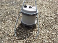 Genuine 35L aquaroll water barrel with original handle. For camping caravan.