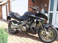 Aprilia * SHIVER * SL 750 GT ABS 2012 62 *only 2k miles* Sports Tourer Motorbike Black