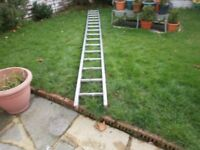 15 FT ALLOY LADDERS