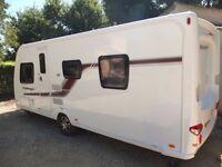 Swift Challenger 580 Caravan with Accessories