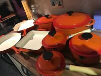 Cooks professional cookware set
