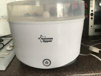 1 Tommy Tippee electric steriliser for sale