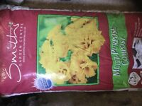 Multi purpose compost X2 bags free of charge.