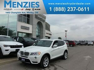 2014 BMW X3 xDrive35i, Pan Roof, Nav, Bluetooth